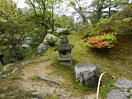 南端の石灯籠